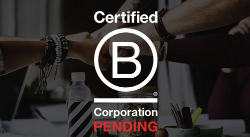 Portola Creek is now officially a B-Corp Pending Corporation